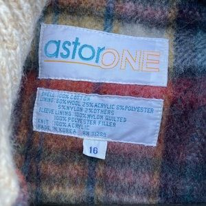 Astor One Jackets & Coats - Astor One Corduroy Coat with Wool Lining Vintage